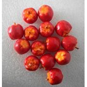 Яблоко красное 2 см фото
