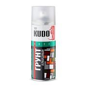 КУДО KU-2001 Грунт аэрозольный универсальный алкидный серый (0,52л) фото
