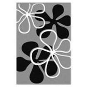 Ковролин (ковролан) Duet серый с лепестками фото