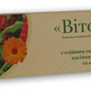 Свечи «Витол» с масляным экстрактом семян амаранта и календулы фото