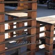 Деревянная скамья, скамейка из массива под старину, для сада, дома и дачи, бани и сауны. фото