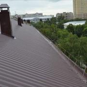 Крыша из профлиста фото
