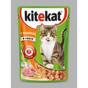 Корм для кошек KITEKAT с индейкой в соусе, 85г фото