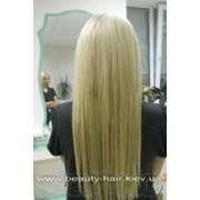 Наращивание волос, капсульне наращивание волос. фото