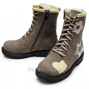 Полуботинки на шнуровке, арт. 2113-126316 фото