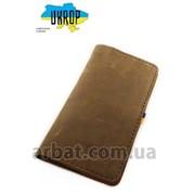 Кейс для паспорта Br-3 коричневый кожа фото
