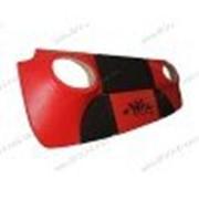 Акустическая полка на ВАЗ Нива 2121 красно-черная, бюджет (NRG) фото