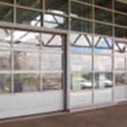 Ворота панорамные фото