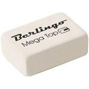 """Ластик BERLINGO """"Mega Top"""", каучук, 26*18*8мм, малый фото"""