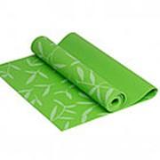 Коврик для йоги 4 мм зеленый IR97502-04 фото