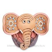 Кашпо керамическое Слон, розовое ZLC-46 фото