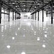 Эпоксидный пол в складских помещениях фото