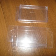 Коробка высечка пластиковая 8*14*2см фото