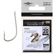 Крючки Mikado NIHONTO - SODE № 12 BR фото