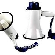Мегафон, громкоговорители рупор підсилювач звуку фото