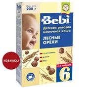 Детская каша Bebi Лесные орехи фото
