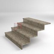 Лестница второй этаж, ступени G664 1500*350*30 термообработка фото