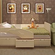 Кровать «Дельфин» МДФ 3D 1.6м. фото