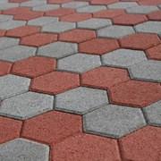 Брусчатка (шестигранник 216х190х80) фото
