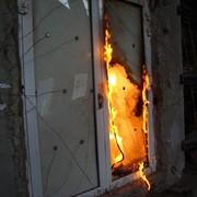 Испытаний на огнестойкость дверей, окон, стеклопакетов, ворот, люков фото