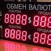 Табло валют, LED дисплеи фото