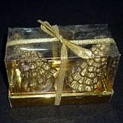 Свечи декоративные Две ёлки фото