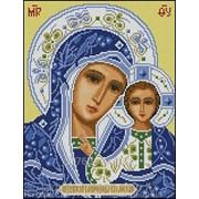 Картина стразами Богородица Казанская - 40х50см фото