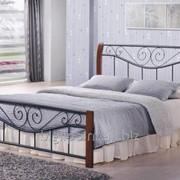 Кровать Ленора 1600*2000 М (каштан) фото