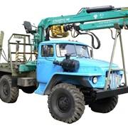 Запчасти на грузовой автомобиль Урал-4320 Лесовоз с прицепом фото