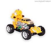 """Автомобиль Mioshi Tech """"Rocket bomber"""" (р/у, жёлтый, 31 см, зарядное устройство и аккумулятор в комплекте) фото"""