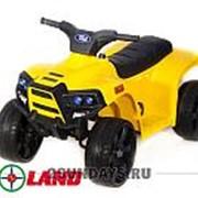 Детский квадроцикл на аккумуляторе JC912 желтый фото