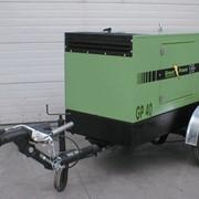 Дизельная электростанция передвижная модель GP 40 дизель-генераторы на базе двигателя IVECO, 3-х фазная, с водяным охлаждением, мощностью 95 кВа, для использования в качестве постоянно действующих автономных или резервных источников электроэнергии фото