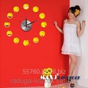 Часы-Стикеры размер 45Х45 СМ фото