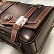 Мужская седельная сумка M размер новая Производства Японии Оригинальный дизайн натуральные материалы фото