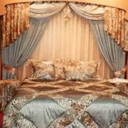 Интерьерный текстиль (скатерти, салфетки, подушки, покрывала, шторы, накидки, тюли) для дома, гостиницы, ресторана фото