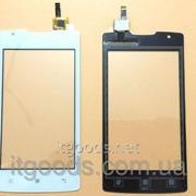 Оригинальный тачскрин / сенсор (сенсорное стекло) для Lenovo A1000 (белый цвет) фото