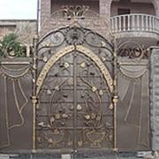 Ворота распашные РВ-3 фото