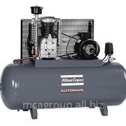 Поршневой маслосмазываемый компрессор Atlas Copco AC 55 E - 270L с ременным приводом фото