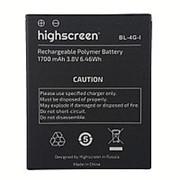 Аккумулятор для Highscreen WinJoy BL-4G-I (1700mAh) фото