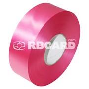 Печать на розовой сатиновой ленте фото