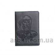 Обложка для паспорта Squaw Кожа темно-серый фото