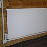 Инфракрасная греющая панель СТЕП, панель отопления фото