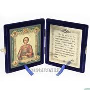 Складень, икона св.вмч. и целитель Пантелеимон фото