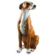 Скульптура Рыжий грейхаунд/ Собака арт.CB-405-M Boxer фото