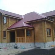 Производство и строительство деревянных домов, коттеджей фото