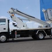 Автовышка телескопическая ISUZU NQR 71PL фото