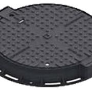 Люк ВЧ тип ТМ с запорным устройством D400, высота 100мм, ф647мм, 54кг фото