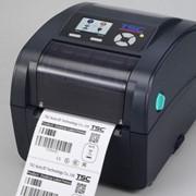 Принтер этикеток TSC TC-210 + LCD с отрезчиком фото