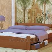 Кровать Эмма 90*200 (Натуральное дерево) фото
