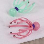 Массажёр «Мурашка» для головы, 8 магнитов, цвет микс фото